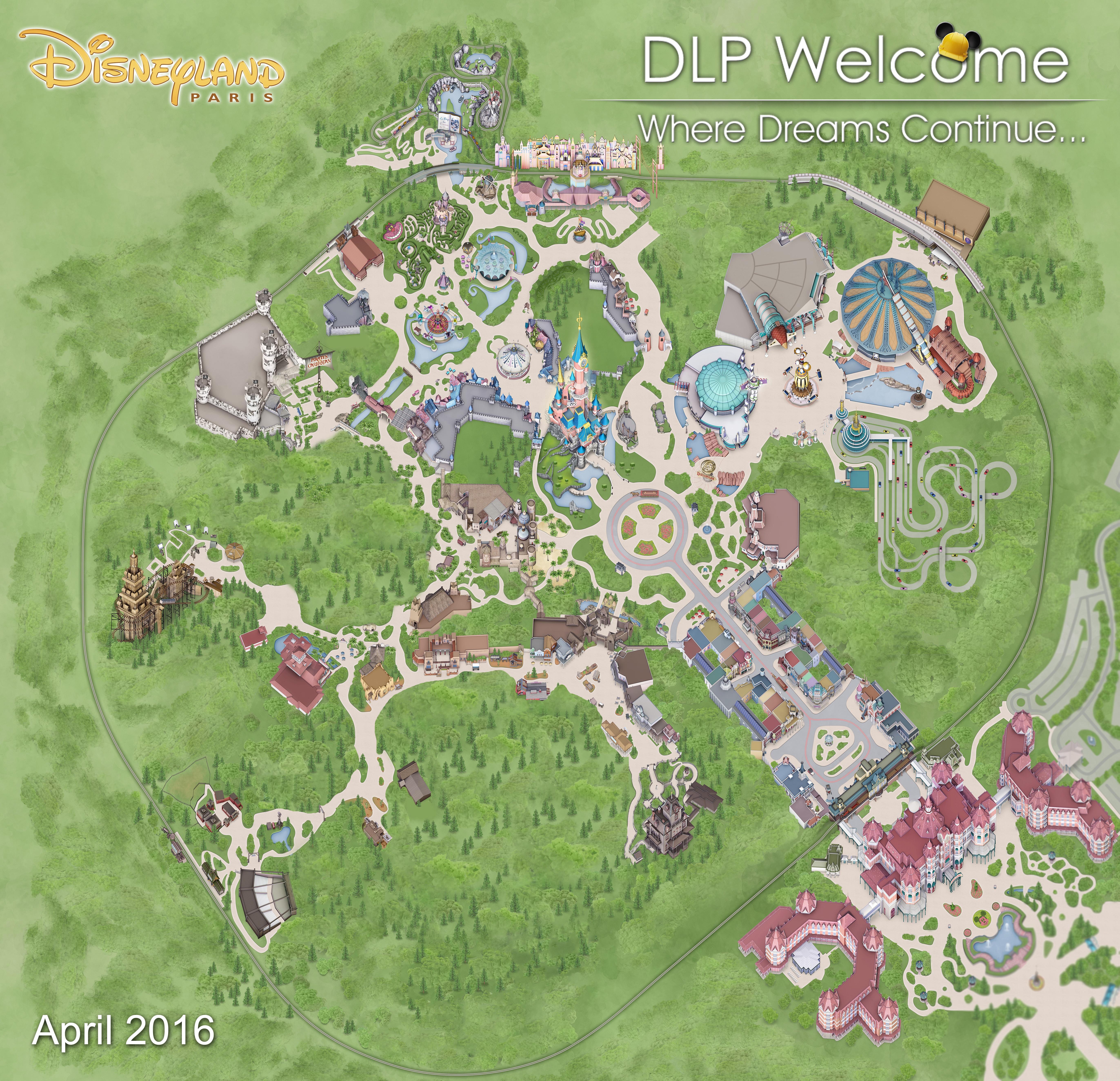 Disneyland Park Plan3